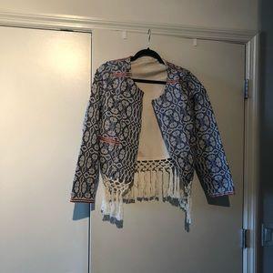 Tularosa fringe jacket